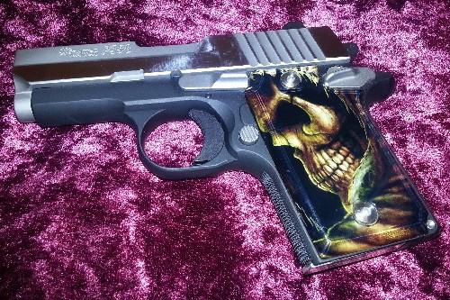 Stinger Paintball Designs - Custom 1911 Pistol Gun Grips