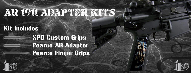 Click for more info on AR to 1911 Adapter Kits